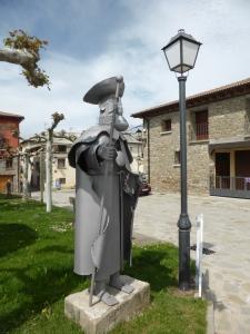 Pilgrim Santa Cilia de Jaca